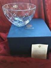 Mib Flawless Exquisite Faberge Collection Fine Crystal Centerpiece Bowl