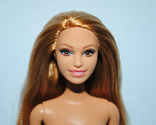 Red Strawberry Blonde Hair Belly Button NUDE w/ Brown Eyes Genuine BARBIE Doll