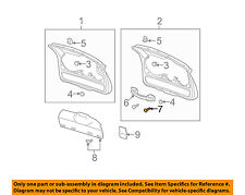 GM OEM Exterior-Rear-Applique Screw 11609460
