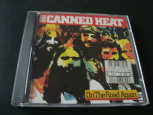 CANNED HEAT--On The Road Again,   COMPILATION