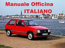 OPEL CORSA A Prima Serie MK1 (1982/1993) Manuale Officina Riparazione ITALIANO