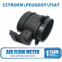 Débitmètre d'air pour FIAT PEUGEOT CITROEN 1.6HDi  9650010780 AUTHENTIQUEOE