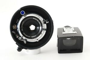 【N MINT w/ Finder】Mamiya SEKOR 65mm F6.3 Blue Dot for Universal Press Japan #360