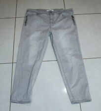 Womens size 18 grey ankle length stretch slim fit jeans by BLUE GRAE DENIIM