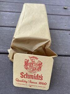 Vintage NOS Full Pack Hundred Of Schmidt's Beer Coasters Cleveland,OH