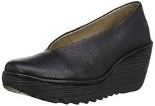 Fly London Yaz - Noir Mousse Chaussures de Femme 38 eu
