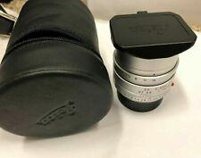 Leica SUMMILUX-M 35mm f1.4 Aspherical Lens Silver #11675