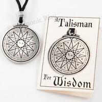 WISDOM SEAL of SOLOMON Amulet Magical Mercury Pentacle Talisman Necklace pendant