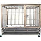 Go Pet Club SQ1044 44 in. Heavy Duty Steel Crate
