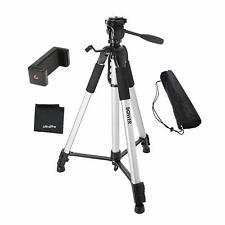 "UltraPro 72"" Heavy Duty Aluminum Camera Tripod with Universal Smartphone Mount"