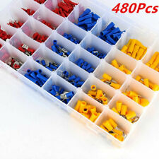 480Pcs Vehicle Car Electrical Wire Terminals Insulated Crimp Connector(AU Stock)