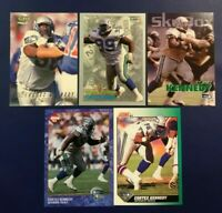 1993 Score Fleer Pacific Skybox Edge CORTEZ KENNEDY Lot 5 Seattle Seahawks HOT !