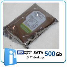 """Disco duro HD 3.5"""" Desktop SATA 500GB 5400 RPM Western Digital WD5000AURX"""