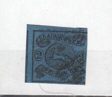 Altdeutschland,Braunschweig M.Nr. 7a  BPP geprüft, gestempelt,  siehe Scan