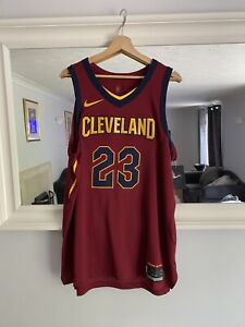 Nike NBA Authentic Icon Lebron Cavaliers Jersey 48/L BNWT