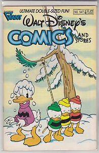 "Walt Disney's Comics and Stories #547 Gladstone Giant 1990 ""Don Rosa Art & Story"