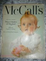 McCall's vintage retro April 1952 Prince Charles recipes food fashion cut outs