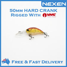 NEXEN Hardbody Crank Bream Bass Lure for Saltwater Freshwater as Berkley