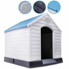 X-LARGE OUTDOOR INDOOR GARDEN PET STRONG DOG ANIMAL SHELTER PLASTIC KENNEL HOUSE