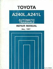 1987 TOYOTA A240L A241L AUTOMATIK TRANSAXLE WERKSTATTHANDBUCH REPAIR MANUAL