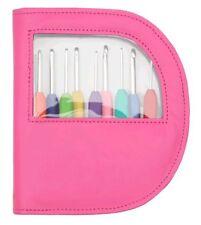 Pink Crochet Hooks