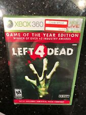 Left 4 Dead Game of the Year Edition (Xbox 360, 2009) Brand New Factory sealed