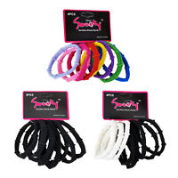 24 Pcs Elastic Hair Tie Ponytail Holder Scrunchies Band - US Ship