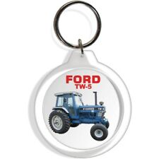 FORD GARDEN FARM INDUSTRIAL TRACTOR KEYCHAIN KEY CHAIN RING EQUIPMENT TW5 PART