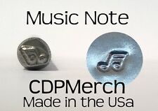 Music Note Metal Design Stamp CDPMerch Metal Punch For Jewelry Blanks