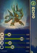 Echo Skylanders Trap Team Core Figure Stat Card Only!