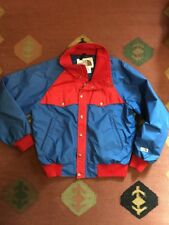 The North Face Vintage Red Blue Mountain Ski Jacket Japan USA Gore tex 70s 80s