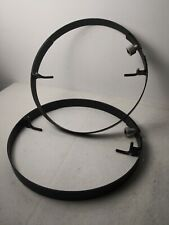 Lot of 2 35mm Movie Projector Platter Transport Rings, 15 inch - Super Lume-x