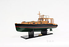 "Ernest Hemingway's Pilar Fishing Boat Wooden Model 27.5"" Motor Yacht New"