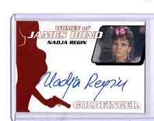 2014 James Bond Archives Nadja Regin auto card #2