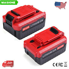 2x Lithium 4.0AH PCC680L Battery for PORTER CABLE PCC685L PCC670 PCC660 20V Max
