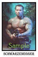 Arnold Schwarzenegger Signed Conquer 2 Poster4 SizesArnie Gym Fit Weights