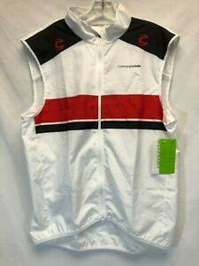 Cannondale White Red Wind Vest