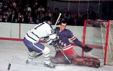 Nostalgia Hockey Print Photo Ed Giacomin Goalie New York Frank Mahovlich Eg16