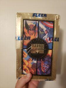 1994 Fleer Marvel Masterpieces, Hildebrandt Brothers Factory Sealed Box
