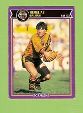 1987  BALMAIN TIGERS  RUGBY LEAGUE CARD #6 BEN  ELIAS
