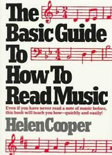 The Basic Guide to How to Read Music Cooper, Helen Paperback