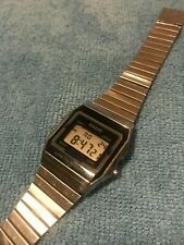 Vintage Casio A156W MADE IN JAPAN Retro Digital Watch