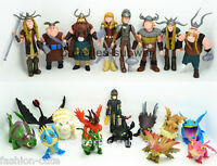 Lot 21 pcs How to Train Your Dragon Hiccup Toothless Astrid  Toy Action Figures