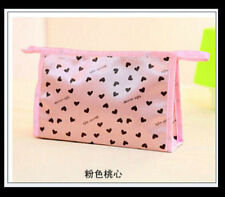 BRAND NEW Unisex Women Waterproof Travel Make up Bag Pouch Purse. Sexy Pink