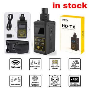 Deity HD-TX Transmitter 2.4G HDTX Wireless Recorder Microphones For Radio DSLR