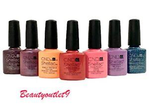 CND Shellac UV Gel Polish 7.3m 14+Day Nail Color  Choose Your Shade