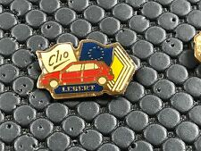 PINS PIN BADGE CAR RENAULT CLIO LEBERT