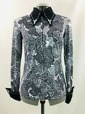 Xsmall Western Show Pleasure Rail Shirt Jacket Clothes Showmanship Horsemanship