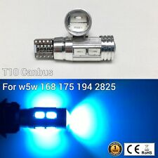T10 194 168 2825 175 Parking marker corner Light ICE BLUE 10 Canbus LED M1 M
