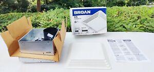"""Broan Nortek Model 676 Ventilation Bath Fan Kit & Grill 110CFM 4.0 Sones """"New"""""""